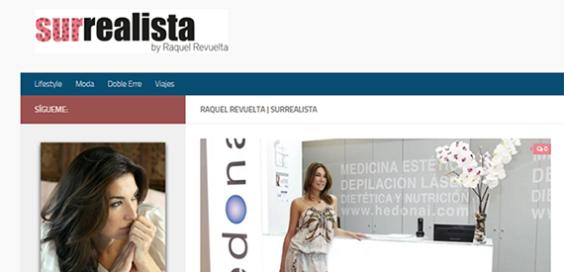 Raquel Revuelta en Hedonai, blog Hedonai