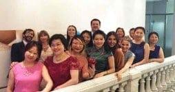 Hedonai: Conexión China